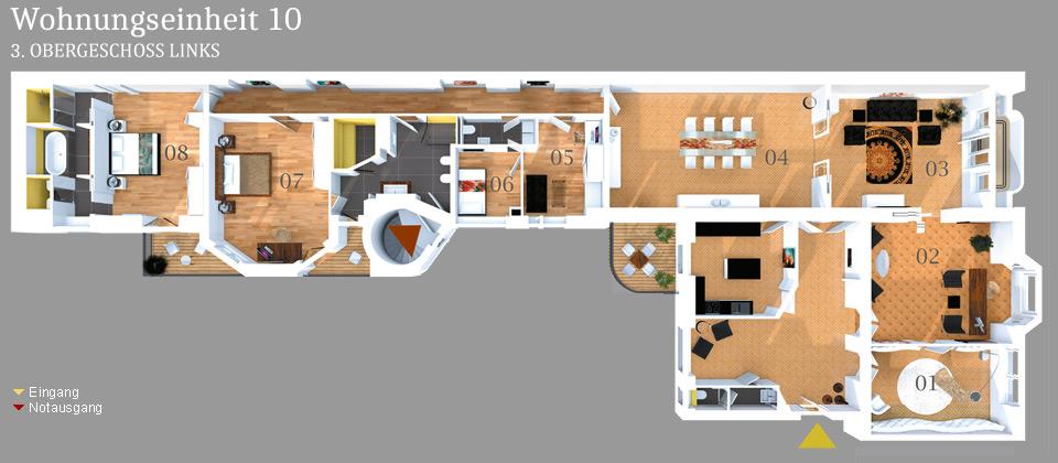 Grundriss NE08 Businesshouse